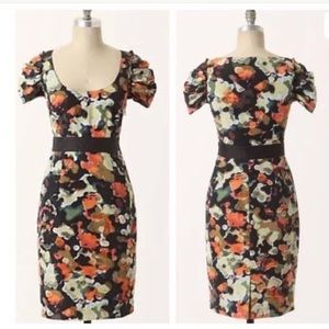 4 MOULINETTE SOEURS Pittore Watercolor Dress